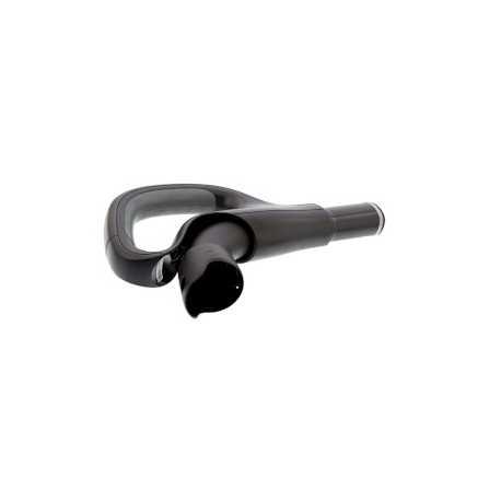 High Speed HDMI met Ethernet Adapter Rechts Gehoekt HDMI-Connector - HDMI Female Zwart