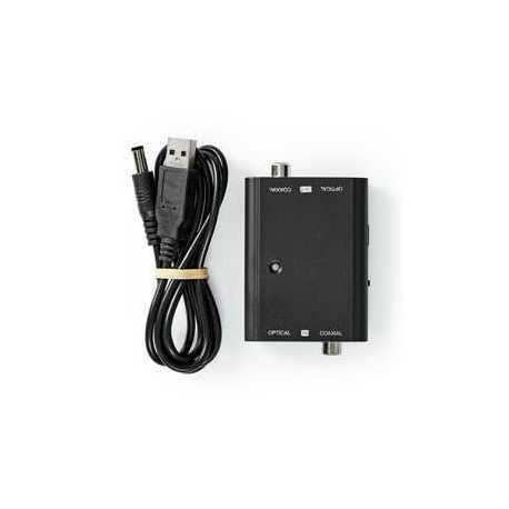 DVI-Adapter DVI-I 24+5-Pins Male - VGA Female 15-Pins Zwart