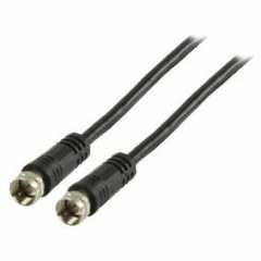 Stereoconnector 6.35 mm Female Zwart