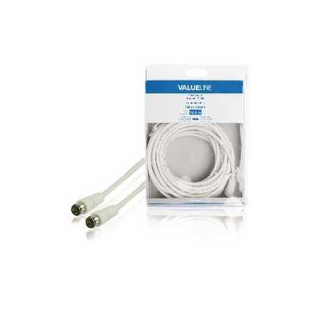Connector DIN Male Zilver